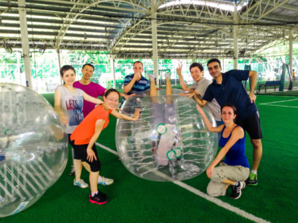 expat group team building program