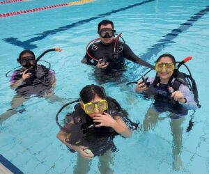 scuba tryout for kids
